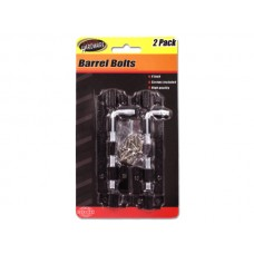 Barrel Bolts with Screws
