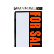 magnetic 'for sale' sign