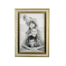 Small Decorative Silver & Gold Photo Frame