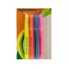 Quick-Drying Chisel Tip Highlighters Set