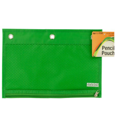 Zippered Pencil Pouch for 3-Ring Binders
