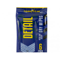Goodyear New Car Scent Dry Auto Detail Wipes