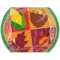Thanksgiving Party Plates
