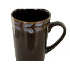 Brown & Purple Shadow Ceramic Mug