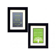 George Eliot & Anne Frank Quotes Framed Art