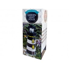Solar Powered LED Garden Lighthouse