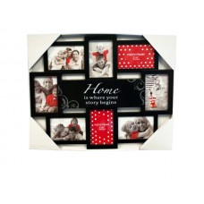 Story of Home Black Collage Photo Frame