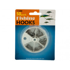 Fishing Hooks Set in Divided Case