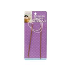 Circular Bamboo Knitting Needle Set