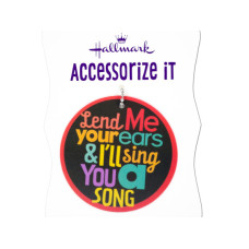 'Lend Me Your Ear' Gift Trim Tag