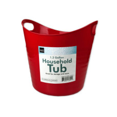 1.3 Gallon Household Tub with Handles