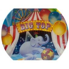 Big Top Birthday Party Plates