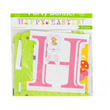 'Happy Easter!' Jointed Party Banner