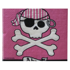 Pirate Parrty Ahoy Lunch Napkins