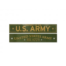 Officially Licensed U.S. Army Horizontal Sign