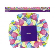 Balloons Fold-Up Party Snack Bowls