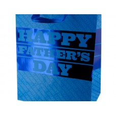 All Blue Father's Day Gift Bag