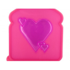 Hearts Design Sandwich Box