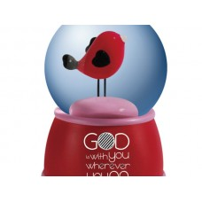 'God Is With You' Decorative Water Globe
