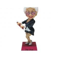 'Tap That Sass' Bobble Figurine