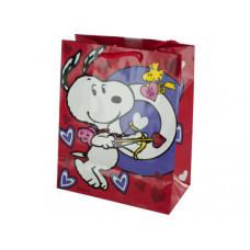 Snoopy Bullseye Valentine's Gift Bag