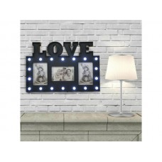LED Marquee Love Photo Frame