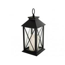 Decorative Lantern with LED Pillar Candle