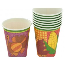 Thanksgiving Party Cups