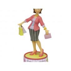 'Shopping' Figurine