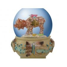 Spirit Visions Moose Water Globe