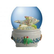 Spirit Visions Dolphin Water Globe