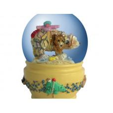 Spirit Visions Bear Water Globe