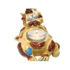 Juliet Cat Ceramic Tealight Holder