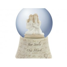 Two Souls Musical Water Globe