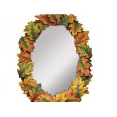 Small Oak Leaves Mirror