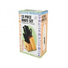 MasterChef Cutlery with Wood Block Set