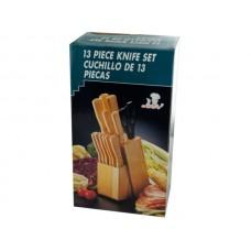 MasterChef Cutlery & Wood Block Set