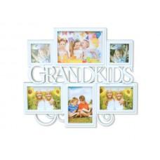 6 In 1 Grandkids Collage Photo Frame
