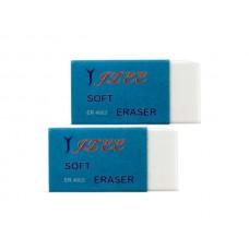 Soft White Eraser Set