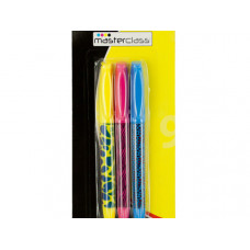 Animal Print Fluorescent Markers Set