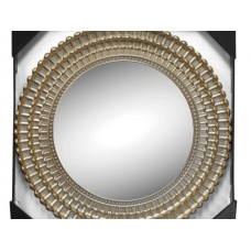 Champagne Flower Wall Mirror