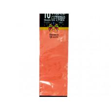 Orange Tissue Gift Paper