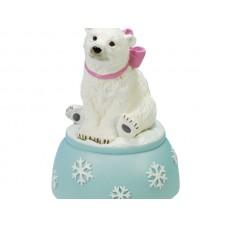 Polar Bear Musical Figurine