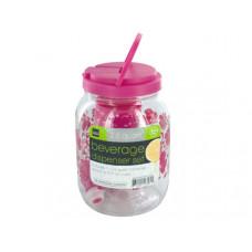 Portable Beverage Dispenser & Cups Set