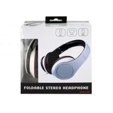 White Foldable Stereo Headphones