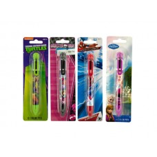 Licensed 6 Color Retractable Pen