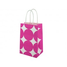 Small Pink Dots Paper Gift Bag