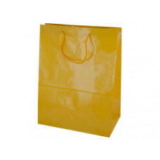 Large Solid Yellow Gift Bag