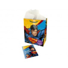 Large Superman Gift Bag with Card & Tissue