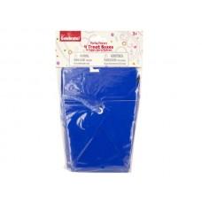 Blue Party Favor Treat Boxes